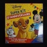 Disney verjaardagspakket