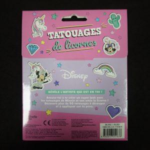 Minnie & Unicorn tattoos