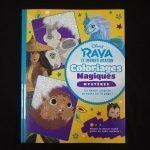 Disney kleuren op nummer Raya (Junior)